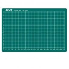 Коврик для резки самовосстанавливающийся A3 (300x450 мм, зеленый)