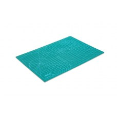 Коврик для резки двухсторонний A4 (300x220 мм, зеленый)