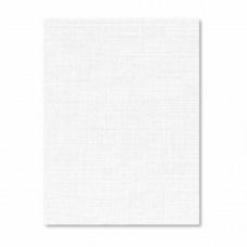 Дизайнерская бумага А3 фактура лен, белый, 250 г/м2