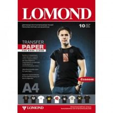 Термотрансферная бумага Lomond, 1 шт. (A4, для струйной печати, для темных тканей)