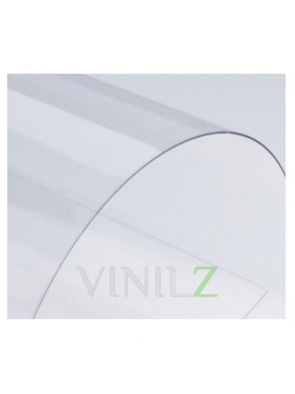 Прозрачный пластик листовой A4, 0.2 мм  (200 мкм), ПВХ