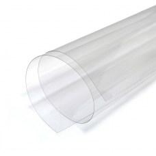 Прозрачный пластик ПЭТ 0.3 мм (300 мкм), листовой, 60х100 см
