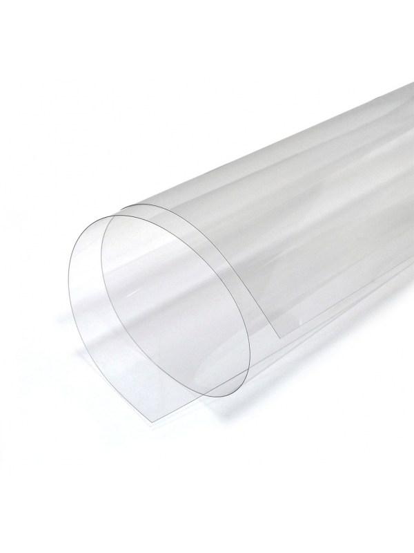 Листовой прозрачный пластик А3, 0.3 мм (300 мкм), ПВХ