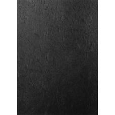 Дизайнерская бумага фактура кожа, А3, 230 г/м2, черный