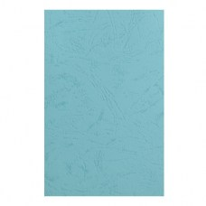 Дизайнерская бумага фактура кожа, А3, 230 г/м2,  бирюза