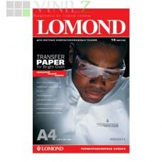 Термотрансферная бумага Lomond для светлых тканей