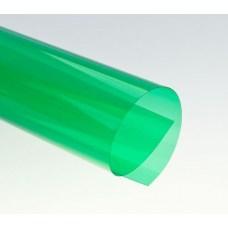 Цветной прозрачный пластик листовой A3, 0.18/0.2мм, ПВХ, зеленый