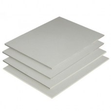 Пластик ПВХ вспененный 3 мм, 50х50 см, белый