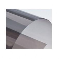 Цветной прозрачный пластик листовой A4, 0.18 мм (180 мкм), ПВХ, черный (дымчатый)