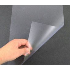 Прозрачный пластик ПВХ Антиблик 0.3 мм, листовой, 120х60 см
