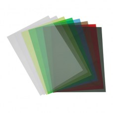 Цветной прозрачный пластик листовой A4, 0.18/0.2мм, ПВХ