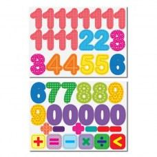Магнитные цифры и знаки 45 штук