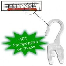 Держатель-крючок для подвешивания рамки POS, прозрачный