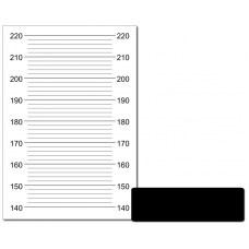 Ростомер для фотосессий в стиле гангстерской вечеринки (60х90 см)