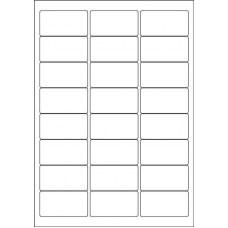 Шаблоны этикеток на листах А4