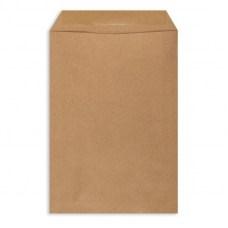 Крафт конверт (пакет) С4 229х324 мм, плоский (коричневый)